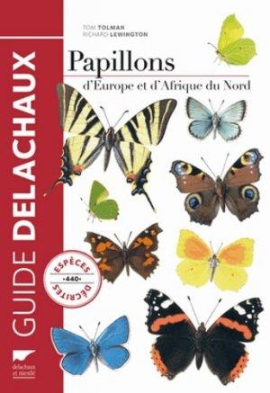 Guide des papillons d'Europe et d'Afrique du Nord - delachaux et niestle - 9782603020456