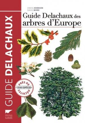 Guide Delachaux des arbres d'Europe - delachaux et niestle - 9782603020814