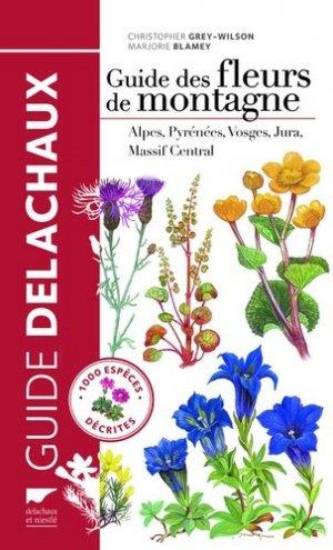 Guide des fleurs de montagne - delachaux et niestle - 9782603021149 -