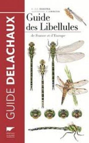 Guide des libellules - delachaux et niestle - 9782603021538 -