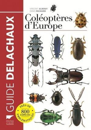 Guide des coléoptères d'Europe - delachaux et niestle - 9782603024263 -