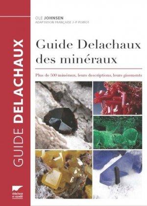 Guide Delachaux des minéraux - delachaux et niestle - 9782603024591 -