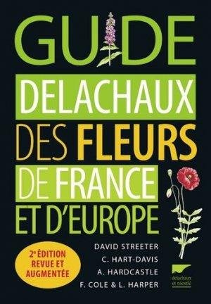 Guide delachaux des fleurs de France et d'Europe - delachaux et niestle - 9782603025017 -