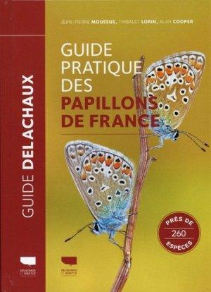 Guide pratique des papillons de France - delachaux et niestlé - 9782603026786 -
