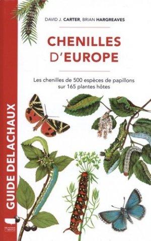 Guide des chenilles d'Europe - delachaux et niestle - 9782603027622 -