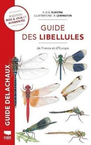 Guide des libellules de France et d'Europe - delachaux et niestlé - 9782603028063 -