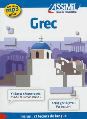 Guide de Conversation Grec - assimil - 9782700505375 -