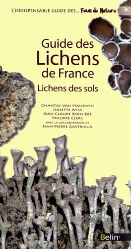 Guide des Lichens de France - belin - 9782701154268 -