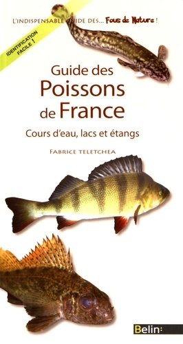 Guide des poissons de France - belin - 9782701161242 -