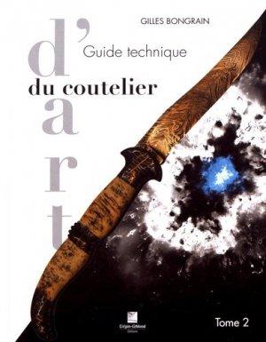 Guide technique coutelier d'art t2 - crepin leblond - 9782703004004 -