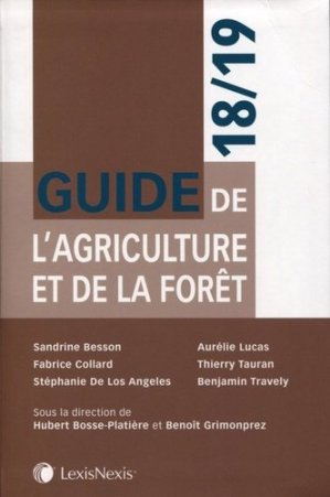 Guide de l'agriculture et de la forêt - lexis nexis - 9782711028993 -