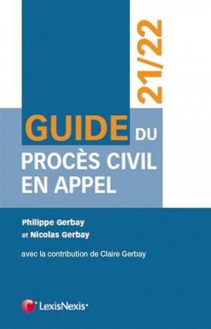 Guide du procès civil en appel - lexis nexis (ex litec) - 9782711031290 -