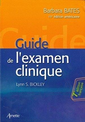 Guide de l'examen clinique - arnette - 9782718413501