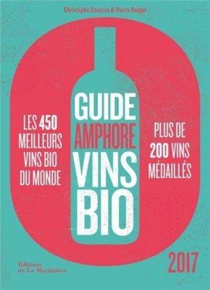 Guide Amphore des vins bio 2017 - de la martiniere - 9782732475875 -