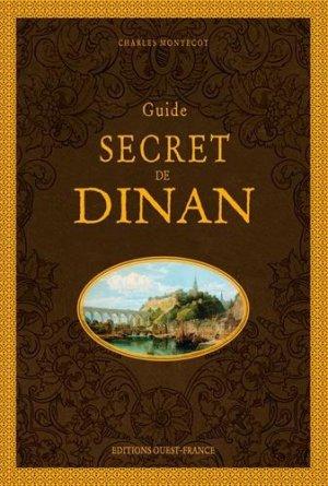 Guide secret de dinan - Ouest-France - 9782737381324 -