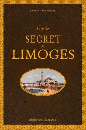 Guide secret de Limoges - ouest-france - 9782737384226 -