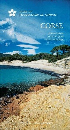 Guide Corse, promenades ecologiques et litteraires - actes sud - 9782742780532 -