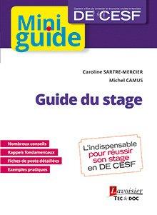 Guide du stage (DE CESF) - lavoisier / tec et doc - 9782743022228 -