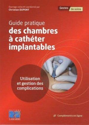 Guide pratique des chambres à cathéter implantables - lamarre - 9782757306321