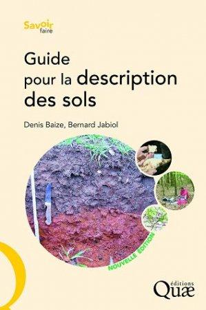 Guide pour la description des sols - quae  - 9782759210343 -