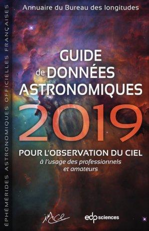 Guide de données astronomiques - EDP Sciences - 9782759822812 -