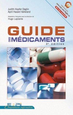 Guide des médicaments - erpi - 9782761322942