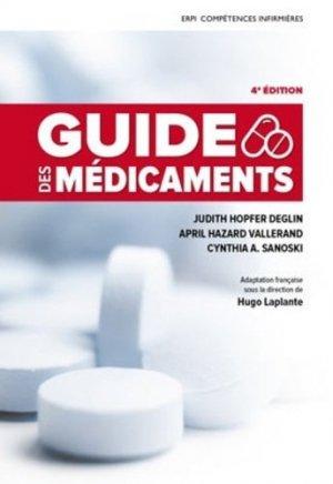 Guide des médicaments - erpi - 9782761347877