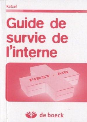 Guide de survie de l'interne - de boeck superieur - 9782804118921