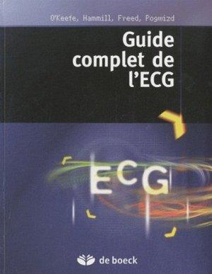 Guide complet de l'ECG - de boeck superieur - 9782804162450