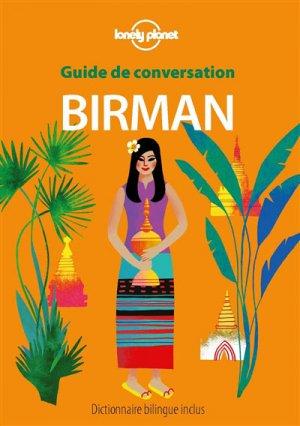 Guide de conversation birman - Lonely Planet - 9782816171747 -