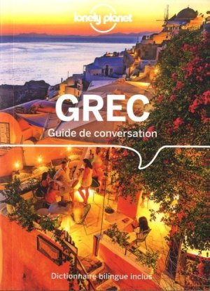 Guide de Conversation Grec - lonely planet - 9782816180688