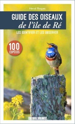 Guide des oiseaux de l'île de Ré - sud ouest - 9782817706474 -