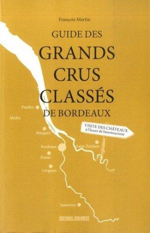 Guide des grands crus classés - sud ouest - 9782817706788 -