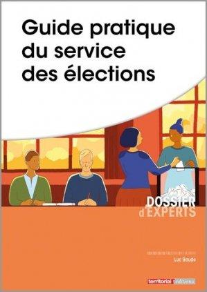 Guide pratique du service des élections - territorial - 9782818616536 -