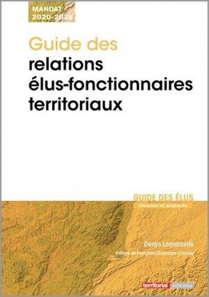 Guide des relations élus-fonctionnaires territoriaux - territorial - 9782818616697 -