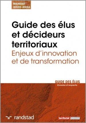 Guide des élus et décideurs territoriaux - territorial - 9782818617151 -