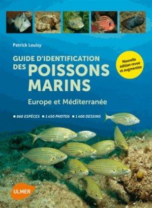 Guide d'identification des poissons marins Europe et Méditerranée - ulmer - 9782841386512 -