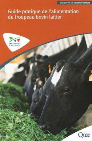 Guide pratique de l'alimentation du troupeau bovin laitier - technipel / institut de l'elevage - 9782841488780 -