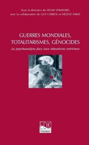 Guerres mondiales, totalitarismes, génocides - edk - 9782842541613 -