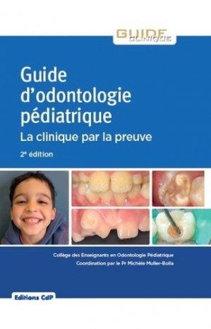 Guide d'odontologie pédiatrique - cdp - 9782843614101 -
