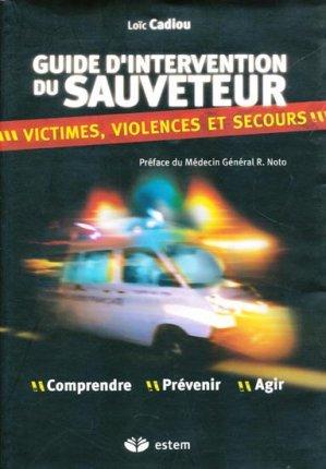 Guide d'intervention du sauveteur - estem - 9782843713200 -