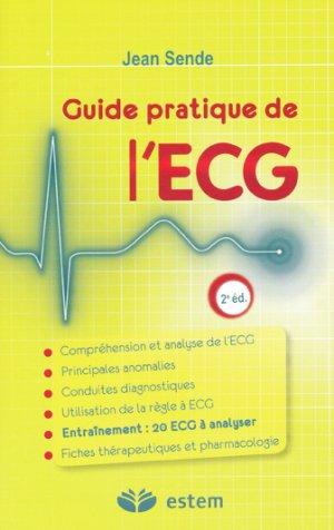 Guide pratique de l'ECG - estem - 9782843714603 -