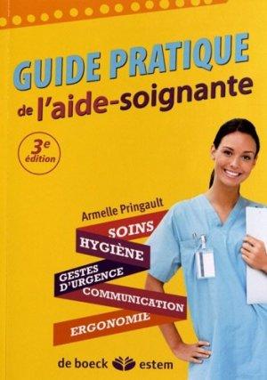 Guide pratique de l'aide soignante - estem - 9782843715914 -