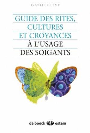 Guide des rites, cultures et croyances à l'usage des soignants - estem - 9782843716744 -