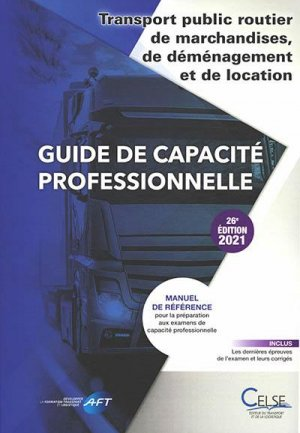 Guide de capacité professionnelle - celse - 9782850094262 -