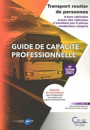 Guide de capacité professionnelle - Celse - 9782850094279 -