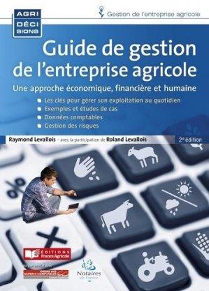 Guide de gestion de l'entreprise agricole - france agricole - 9782855576602 -