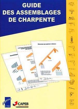 Guide des assemblages de charpente - fcba - 9782856840436 -