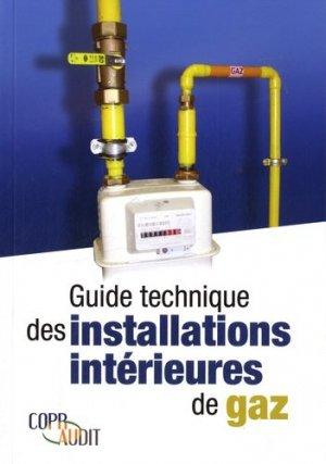 Guide technique des installations intérieures de gaz - parisiennes - 9782862431123 -