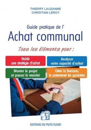 Guide pratique de l'achat communal - Puits Fleuri - 9782867396700 -